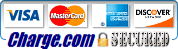 We accept credit cards logo