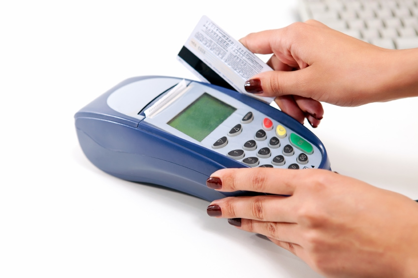 Mobile Credit Card Processing Maching